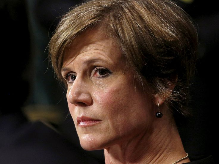 Acting Attorney General Sally Yates fired by Donald Trump is nominated for John F Kennedy Courage Award Ms Yates has been praised for standing by her convictions and refusing to defend Trump's so-called 'Muslim ban'