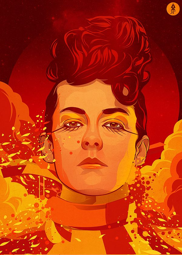 Johanna Mason - a fierce competitor. #CatchingFire