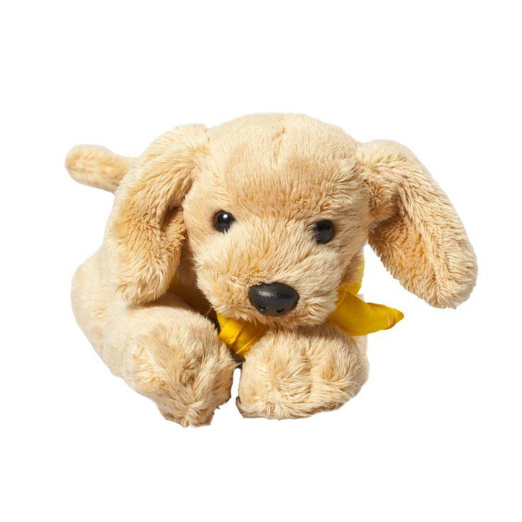 Het liefste en zachtste cadeau uit onze webshop. Deze knuffel heeft ook een geel KNGF-dekje om. Wie maak je hier nou niet blij mee?