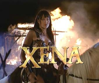 "I'd probably be the same-->""#XenaWarriorPrincess I could never meet Lucy Lawless. I wouldn't be able to stop Xena-fangirl-babbling long enough to get out a ""hello."""""