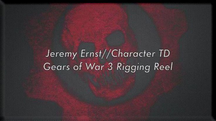 Jeremy Ernst — Gears of War 3 Rigging Reel on Vimeo