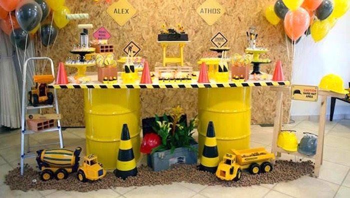 Construction Birthday Party | Kara's Party Ideas