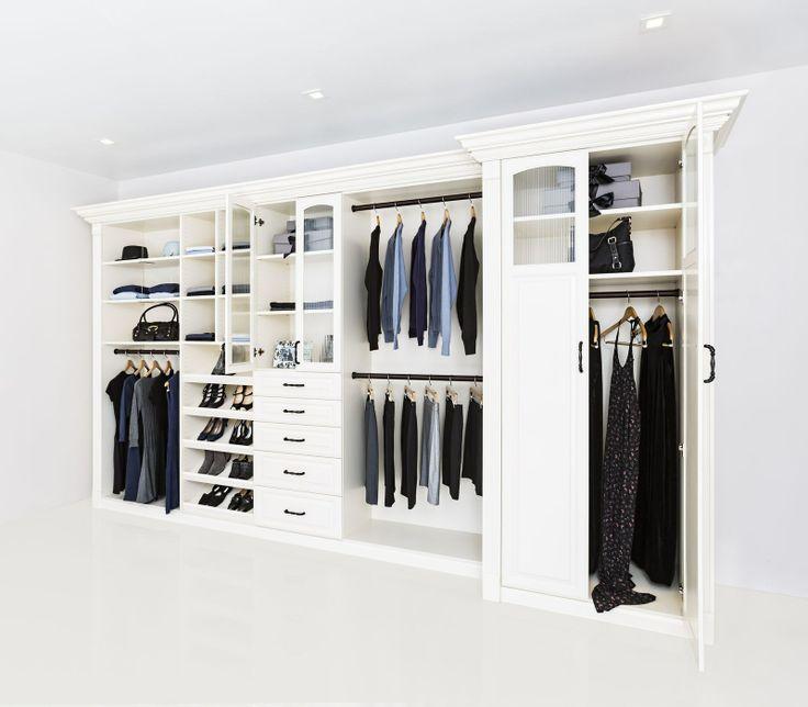 Closet Factory, Reach In Closet #Customcloset #Smallclosetdesign Learn  More: Http: