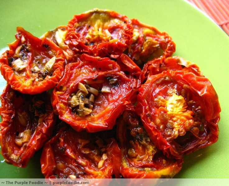 Oven-Dried Tomatoes...yum!