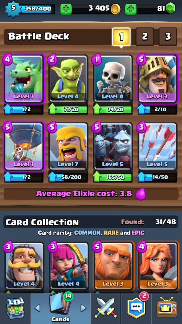 Best Clash Royale Decks And Strategy Tips and Tricks For Arenas 3 4  http://ift.tt/1STR6PC