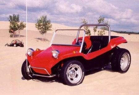Corvair powered Dune Buggy
