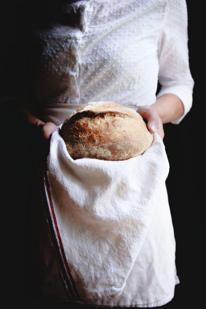 Pane di farro e farina semintegrale a lievitazione naturale-2