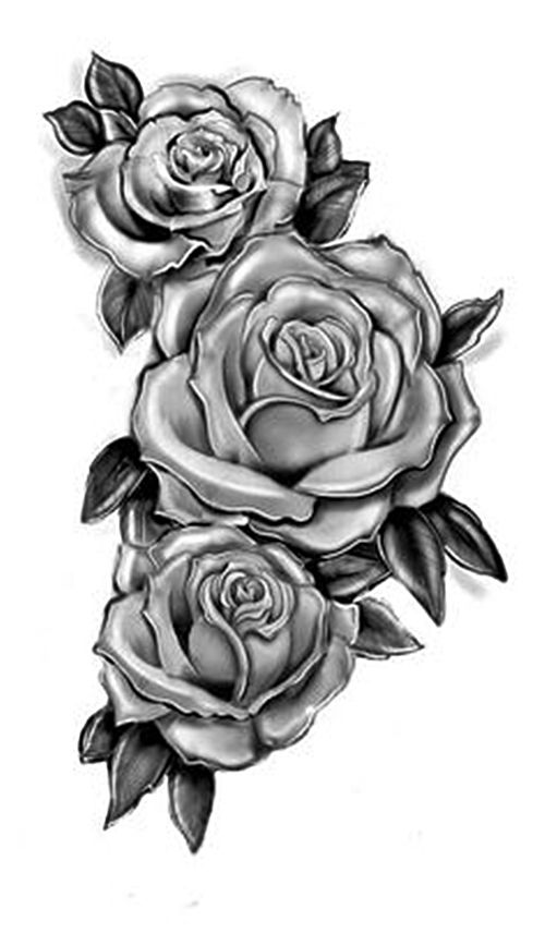 Pin by Tonia Russell on drawing   Rose tattoos, Body art tattoos