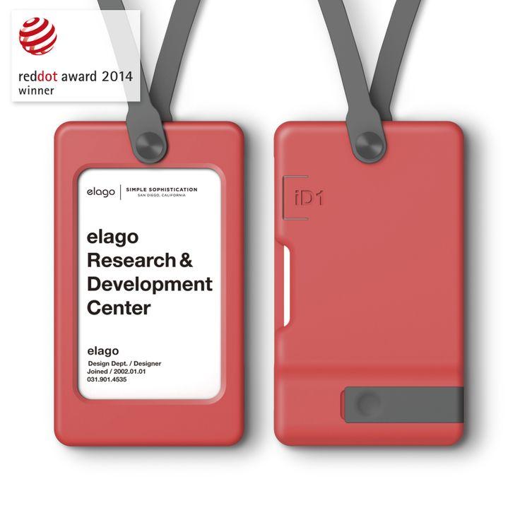 elago iD1 USB ID Card Holder - Italian Rose