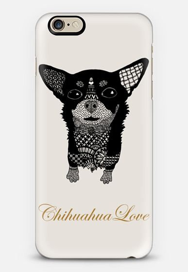 Chihuahua Love iPhone 6 case by Katopia Design | Casetify