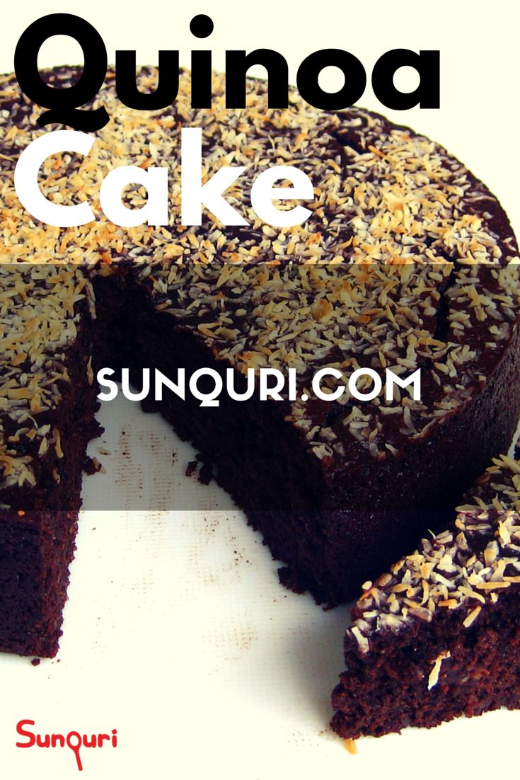 Ingredients:  - Flour: 550 gr - Butter: 250 gr - Eggs: 5 - 1 Cup of quinoa - 1 Cup of vanilla - 1 Teaspoon of cinnamon - Raisin: 100 gr - 2 Cup of sugar - Icing sugar - Milk.  Wanna you know how make this cake? See us on -->  http://sunquri.com/en