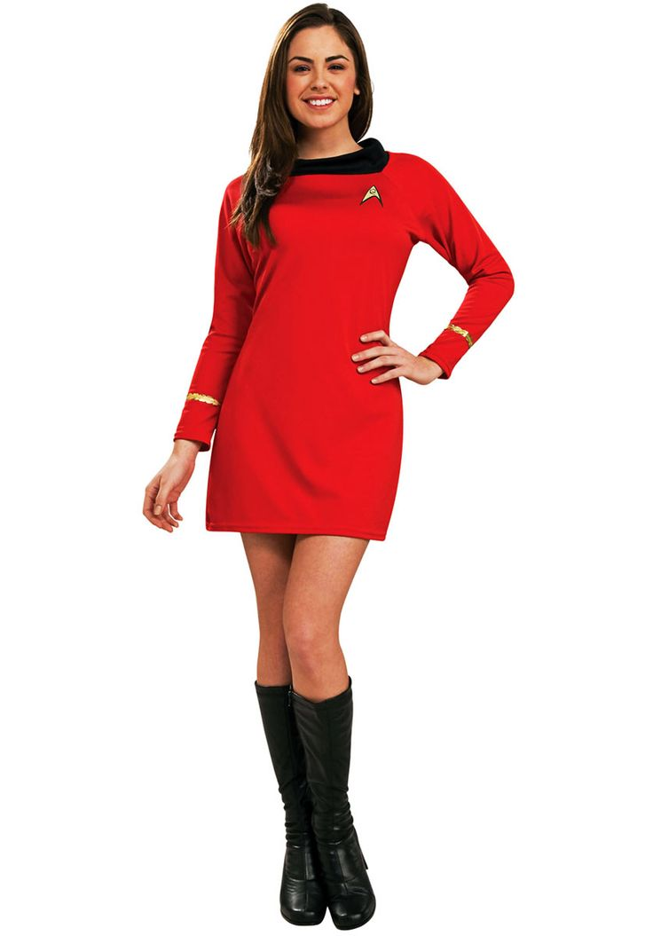 Adult Uhura Costume Deluxe, Star Trek - Hollywood and TV costumes at Escapade