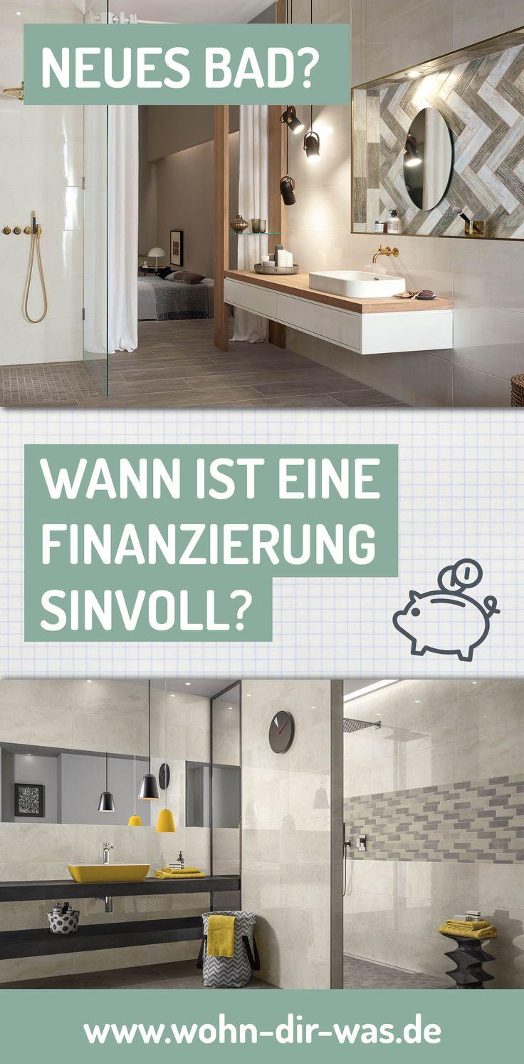 Inspirational Lohnt sich eine Finanzierung f rs neue Bad