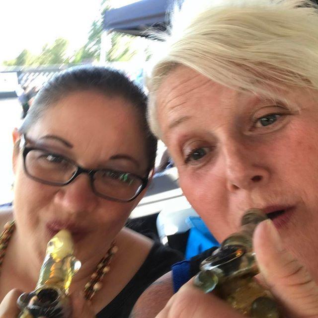 Getting faded on that @dankquerkle Me & @stoner_marthastewart are HIGH on this ⛽️ @hightimesmagazine #cannabiscup Dinner time @hightimesmagazine Beautiful nigh#baconwrappedhotdog #garlicfries #805beer  #cannabis #cannabisculture #cannabiscommunity #cannabiscures #cannabistopicals #skincare #CBD #cancer #seizures #ptsd #pain #710 #420 #marijuana #weed #pot #topicals #natural #hightimesmagazine #dopemagazine #culturemagazine #extracts #weedmaps #petsandpot #gemstonz #weedandweiners    #Reg