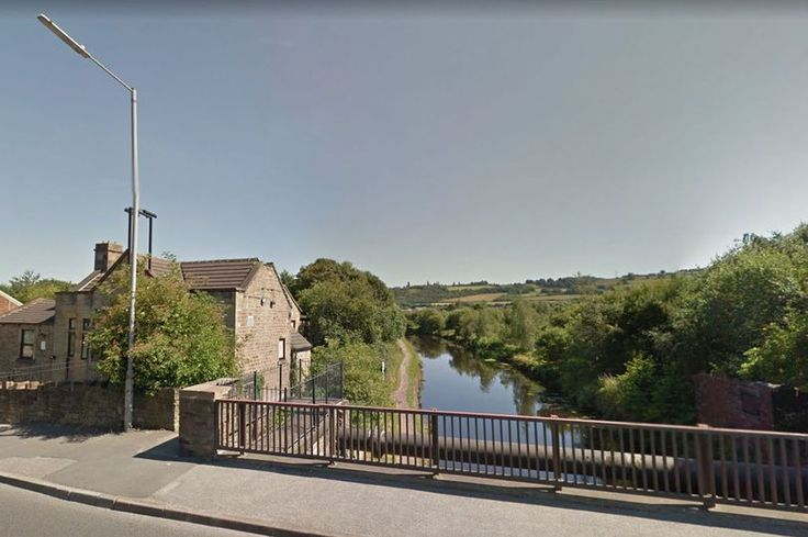 The man's body was recovered from a canal in Dewsbury, West Yorkshire (file picture)