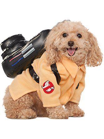 Ghostbusters Movie Pet Costume, Large, Ghostbuster Jumpsuit ❤ Rubies Decor