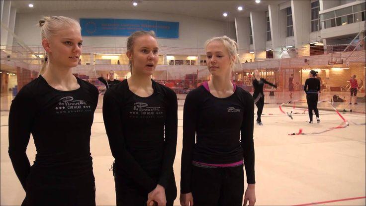 urheilijan haastattelu: joukkuevoimistelu