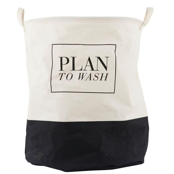 Plan To Wash Laundry Basket - House Doctor - House Doctor - RoyalDesign.com