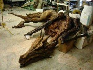 Penemuan Kerangka Naga Berkaki Enam Bikin Heboh Warga