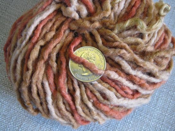Reclaimed 100 Wool Yarn 158 grams Bulky Weight by AudreyLeeYarns on #Etsy