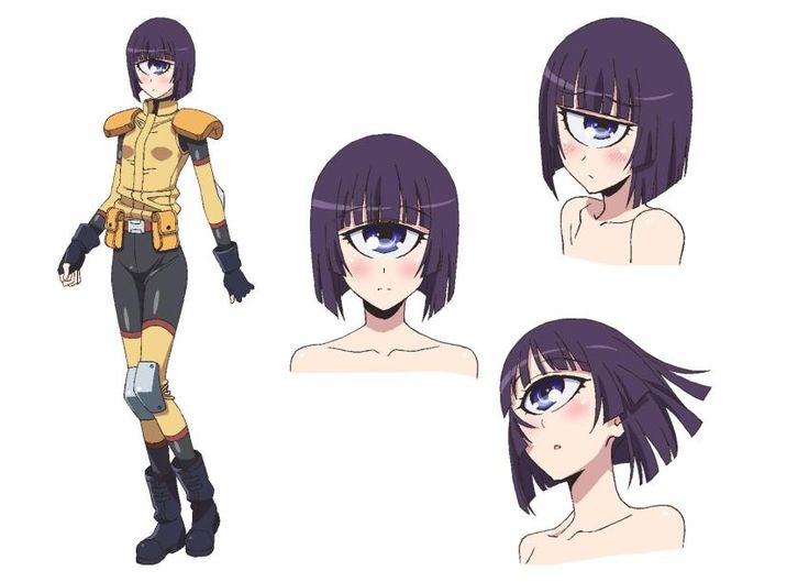 Monster Musume anime - Manako concept art