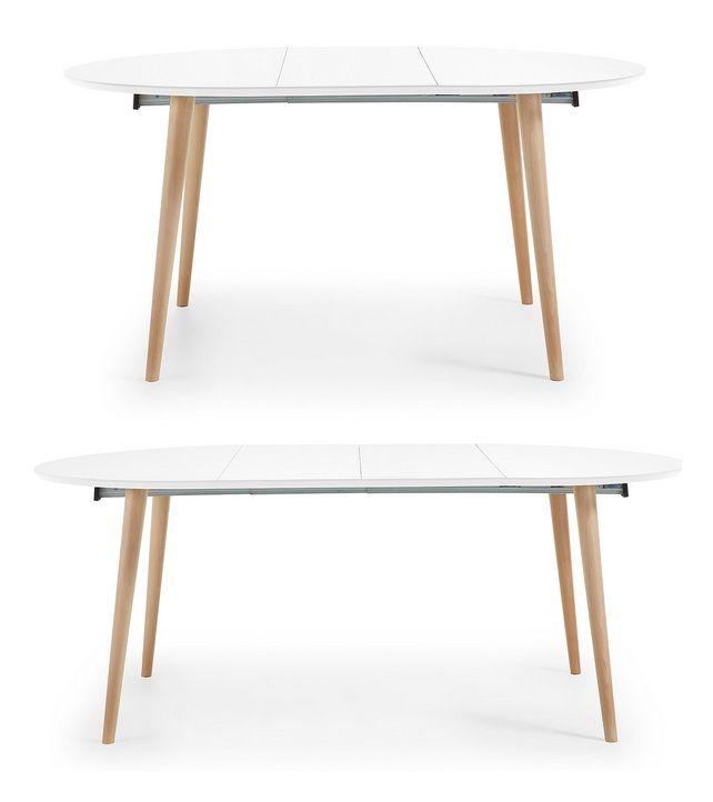 10 mejores ideas sobre mesa redonda extensible en for Mesa redonda extensible blanca