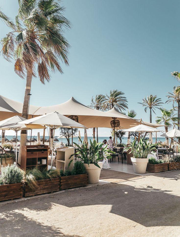 Los mejores chiringuitos de España - Los mejores beach clubs de España Hotel Marbella, Marbella Beach, Ibiza, Barcelona Beach, Terrace Restaurant, Playa Beach, Moraira, Beach Cafe, What A Beautiful Day