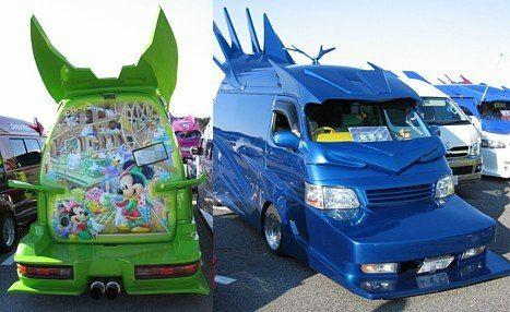 Japanese Gangsters Pimp Out Minivans « Car Mods