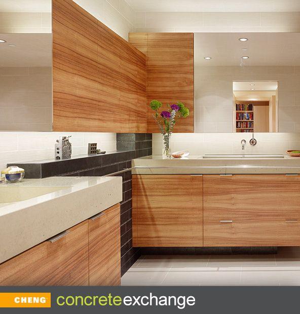 17 Best Images About Concrete Countertops (Bath), Baths