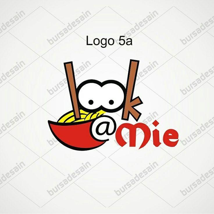 Logo LOOK @Mie BursaDesain.com  #LogoDesign #BBM:52A24478