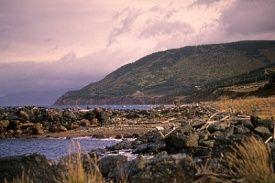Nova Scotia coastline near Sydney, NS