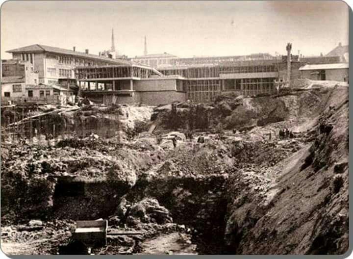 Unkapanı , İMÇ blokları inşaatı - 1960 lar ·