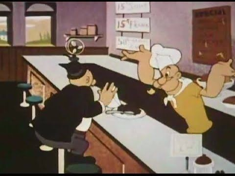 1957 SPREE LUNCH - Popeye cartoon