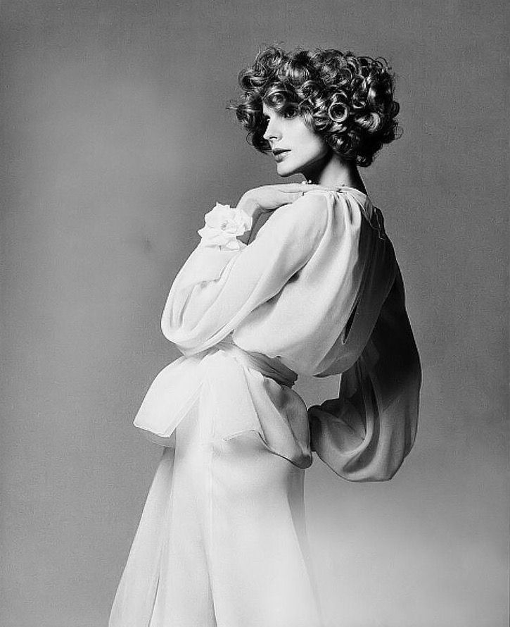 Ann Holbrook, photo by Francesco Scavullo, Vogue 1974 | flickr skorver1