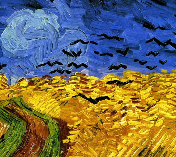 VINCENT VAN GOGH  Wheat Field with Crows