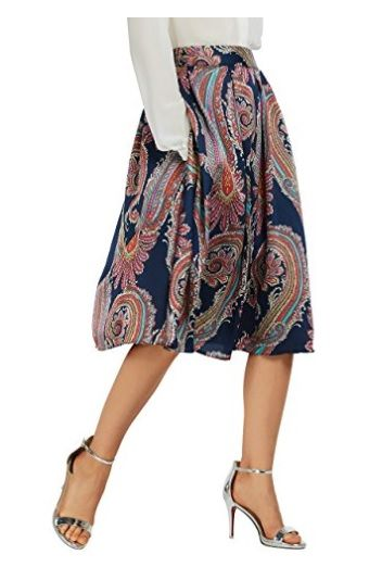 Falda Estampado #Amazonmoda #Modamujer #Moda2017/2018 #Falda #Outfit #fashion #Shopping #Print