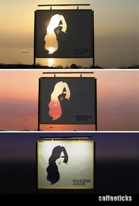 Sunset Signboard.