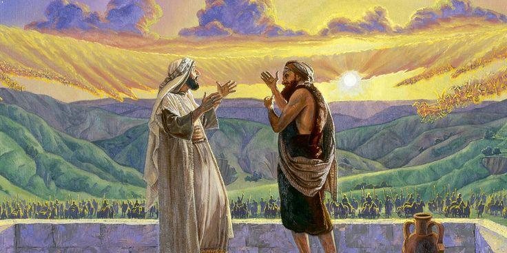 Estudo: O profeta Eliseu se manteve calmo ao ver os sírios em volta da cidade, pois confiava em Jeová. Veja como somos beneficiados por esse e outros acontecimentos em sua vida.