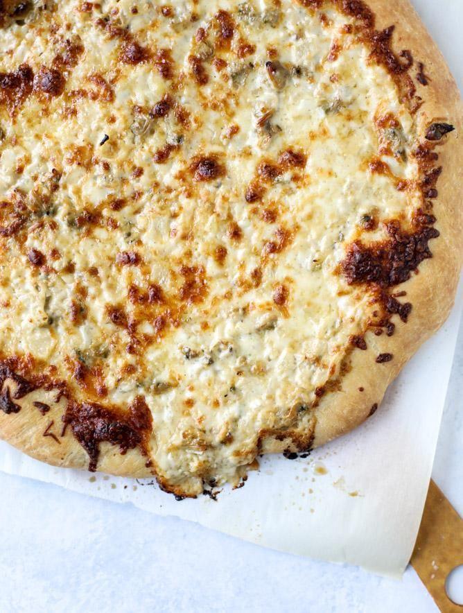 Sauce à la palourde blanche pizza 2