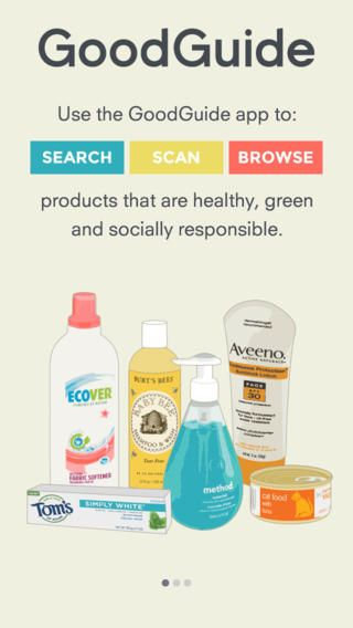 The good guide- a very useful ethical buying ap. Scan barcodes, search for products. Pretty much everything covered: shampoo, dishwasher powder, socks, nappies etc.