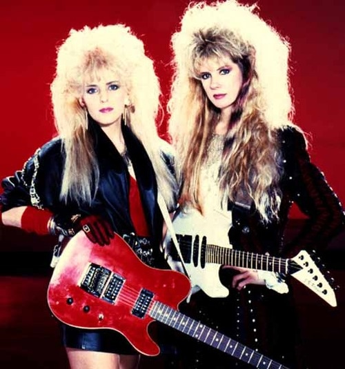 Vixen. Big Hair. 80s. Band. Ya, I Pinned it. This one's for my homie Javier