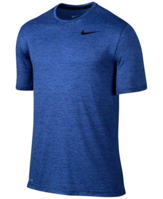 Nike Men's Dri-FIT Touch Ultra-Soft T-Shirt   macys.com