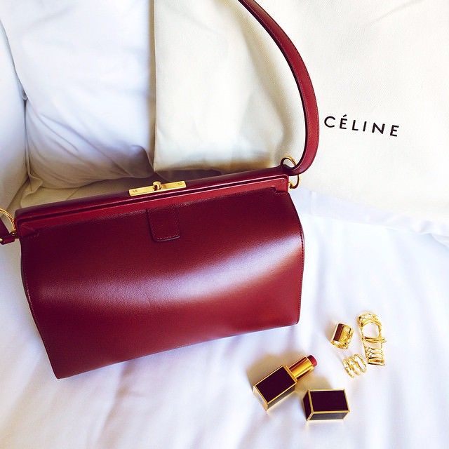 Kristina Bazan Celine Mini Doc Bag | Style | Pinterest | Celine ...