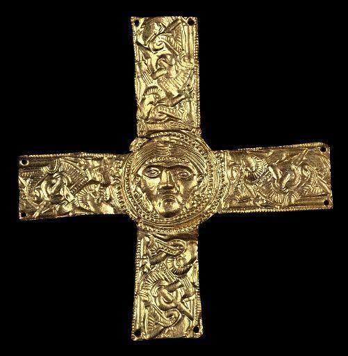 Croce d'oro Longobarda (VII secolo) - Museo di Cividale del Friuli