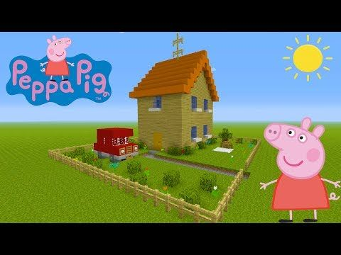 "Minecraft Tutorial: How To Make Peppa Pigs House ""Peppa Pig"" https://i.ytimg.com/vi/WfeYsqdCHjc/hqdefault.jpg"