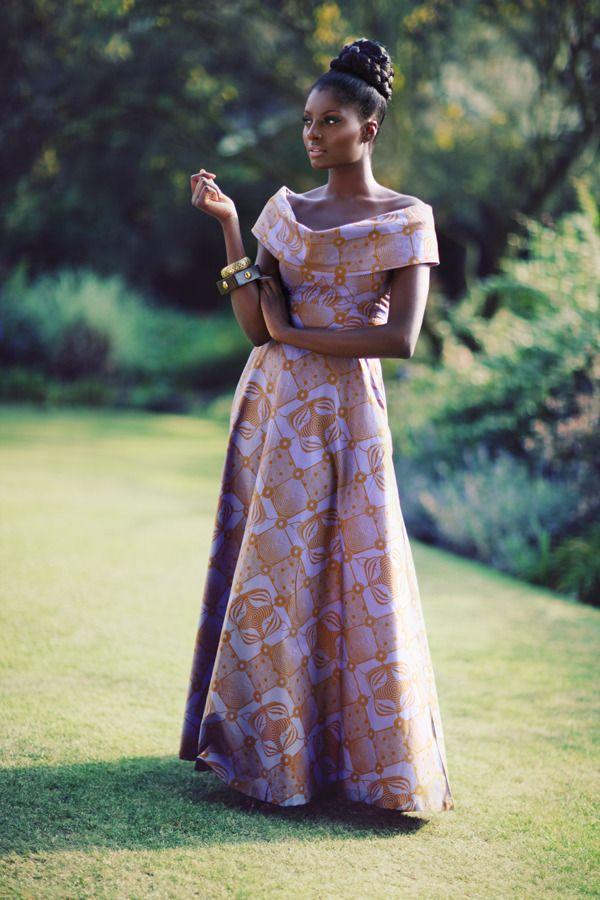 Ankara Styles for Ladies | Aso-ebi Ankara (making long dresses) | tutukulture
