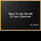 Wordles are creative way of bringing discussion, problem solving, and critical thinking into your classroom.Provided in this powerpoint are way...