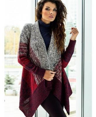 Rewelacyjny, mega ciepły sweter doskonały na chłodne dni. Genialne połączenie kolorów. Najmodniejszy fason. Sweter pasuje do wielu jesienno-zimowych stylizacji.