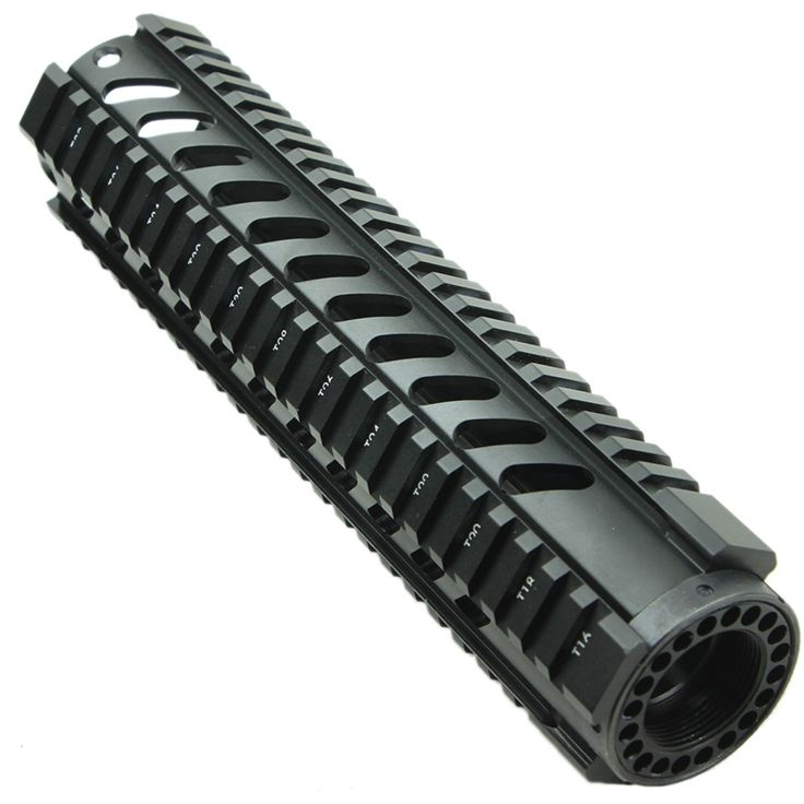 29.30$  Buy here - http://alicw0.shopchina.info/1/go.php?t=32468206057 - Funpowerland Tactical  T-Series 4/15 Free Float slanted holes10 Inch Handguard Quad Rail Mount  #SHOPPING