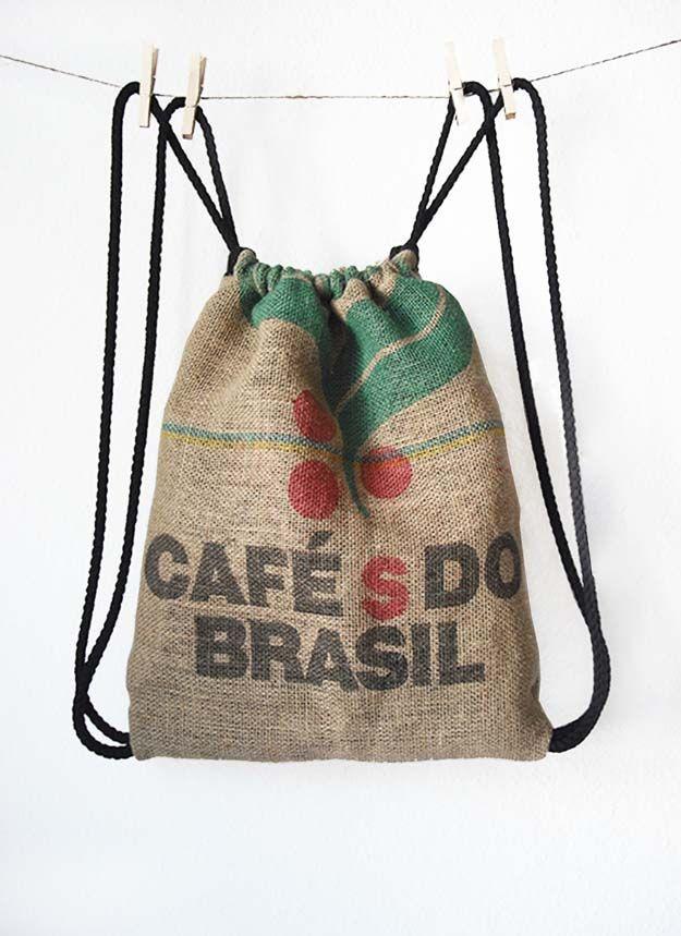 Best 25 burlap coffee bags ideas on pinterest coffee for Burlap bag craft ideas
